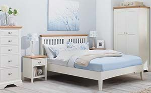 Benltey Designs Hampstead Low Footend Two Tone Bed Frame