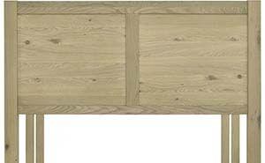 Bentley Designs Turin Oak Panel Headboard (5' King Size)